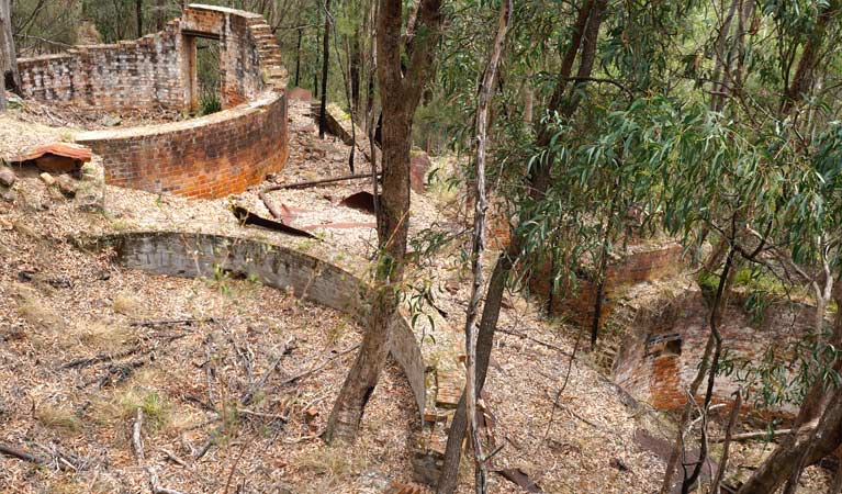 Newnes Industrial Ruins, Wollemi National Park.