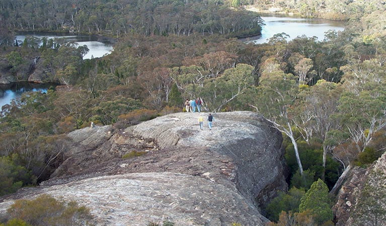 Views of Cudgegong River from Pagoda Lookout, Wollemi National Park. Photo: Michael Sharp/OEH