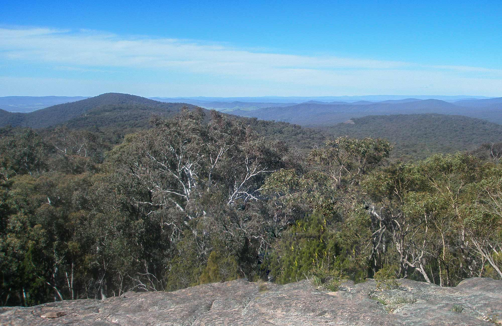 Norths lookout, Woomargama National Park. Photo: Dave Pearce/NSW Government