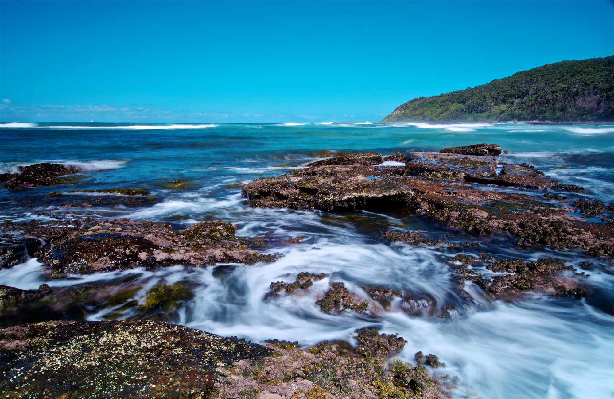 Bateau Bay, Wyrrabalong National Park. Photo: John Spencer
