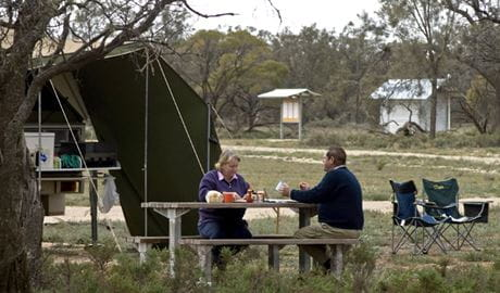 People at Willows campground & picnic area. Photo: Boris Hlavica/NSW Government