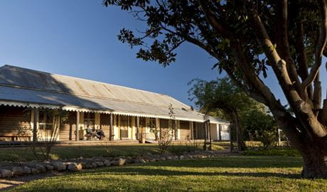 Yanga Homestead, Yanga National Park. Photo: David Finnegan