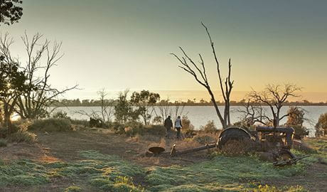 Yanga Lake walking track, Yanga National Park. Photo: David Finnegan