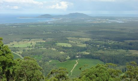 Yarriabini lookout, Yarriabini National Park. Photo: A Turbill/NSW Government