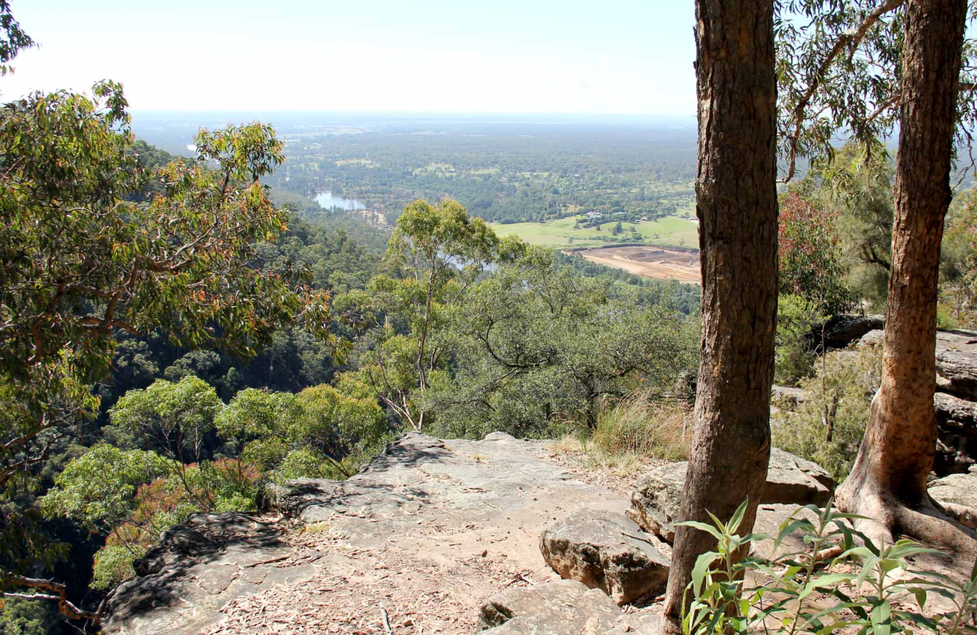 Yellow Rock Lookout, Yellowmundee Regional Park. Photo: John Yurasek