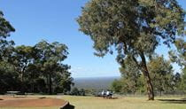 Hawkesbury lookout, Yellomundee Regional Park. Photo: John Yurasek
