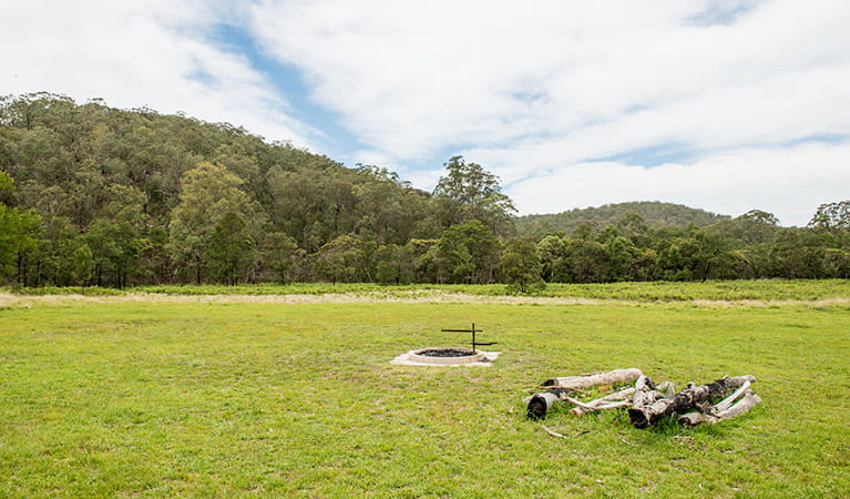 Blue Gums campground, Yengo National Park. Photo: John Spencer/DPIE