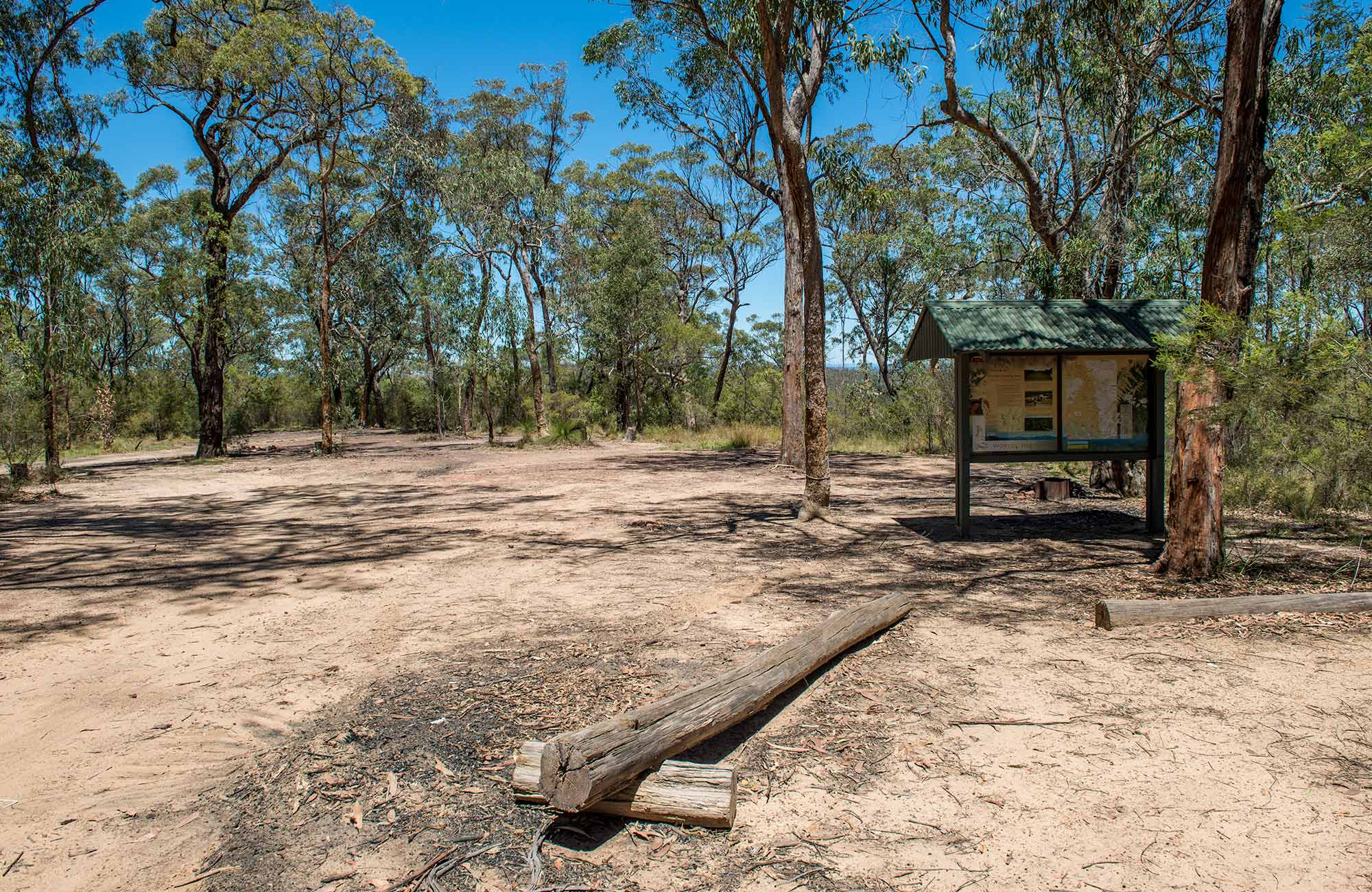 Finchley campground, Yengo National Park. Photo: John Spencer