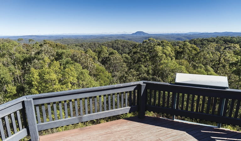 Finchley Lookout, Yengo National Park. Photo: Simone Cottrell/OEH