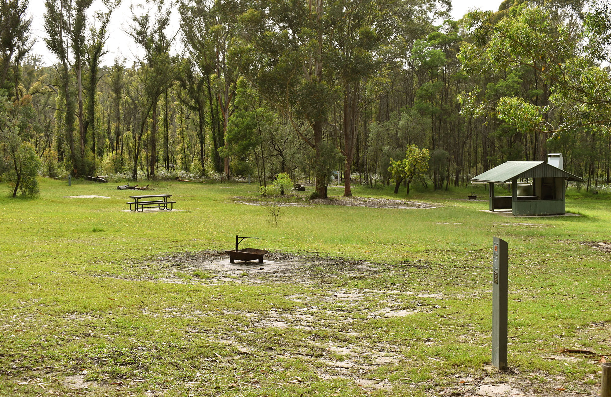 Mogo campground, Yengo National Park. Photo: Sarah Brookes © DPIE