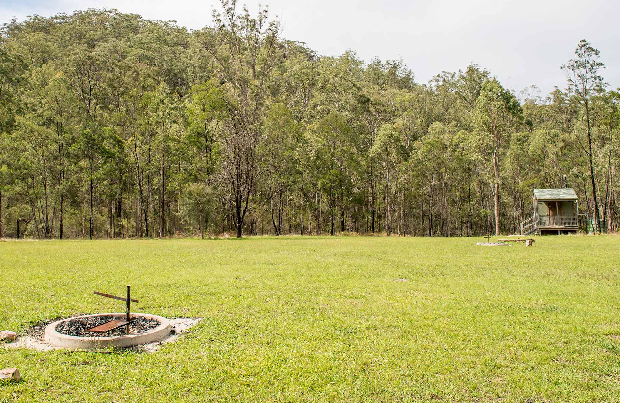 Mountain Arm campground, Yengo National Park. Photo: John Spencer/DPIE