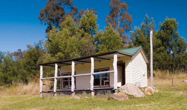 Haddens Hall, Yengo Accommodation. Photo: NSW Government