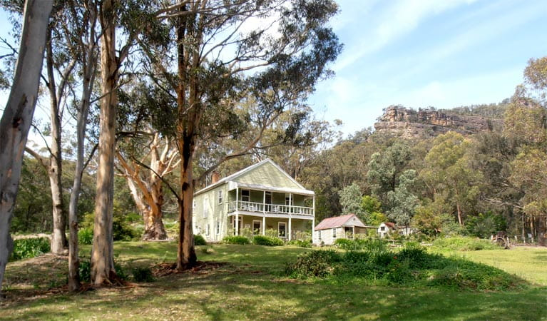 Post Office Lodge, Yerranderie Regional Park. Photo: D Campbell