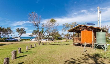 Illaroo north campground in Yuraygir National Park. Photo: Robert Cleary/DPIE