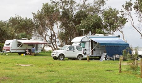 Illaroo campground, Yuraygir National Park. Photo: Rob Cleary/Seen Australia