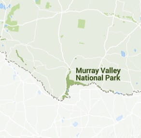 Map of Murray Valley National Park