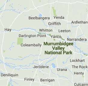 Murrumbidgee Valley National Park | Map | NSW National Parks on