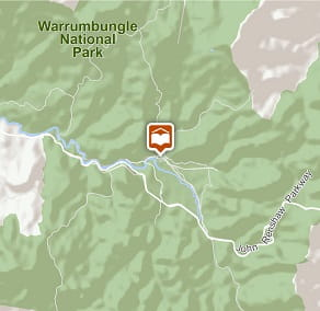 Map of Warrumbungle Environmental Education Centre