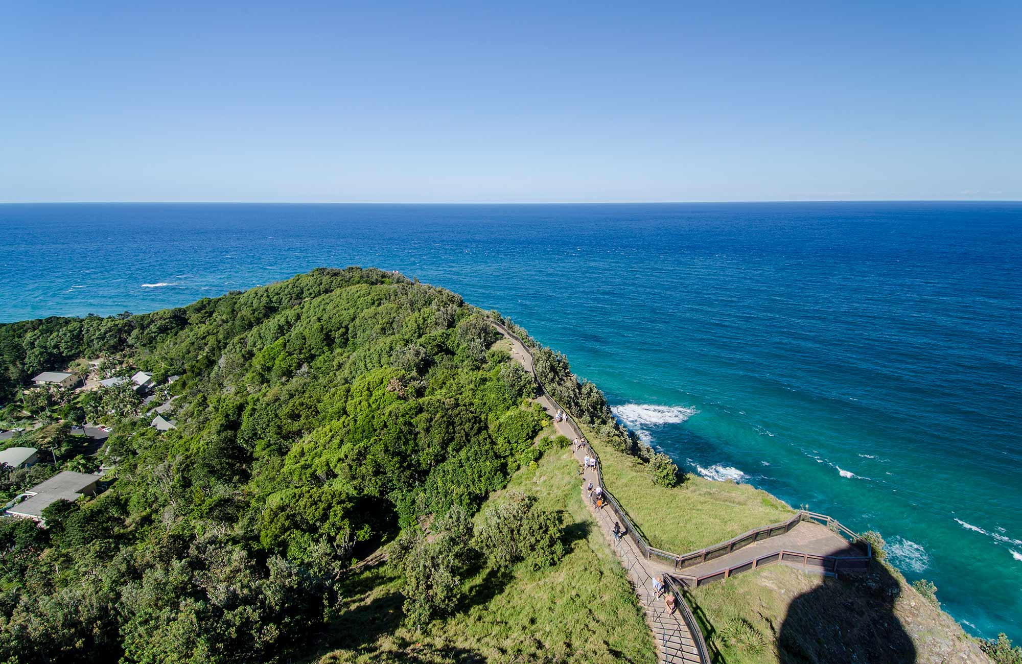 Views along the coastline, Cape Byron State Conservation Area. Photo: John Spencer