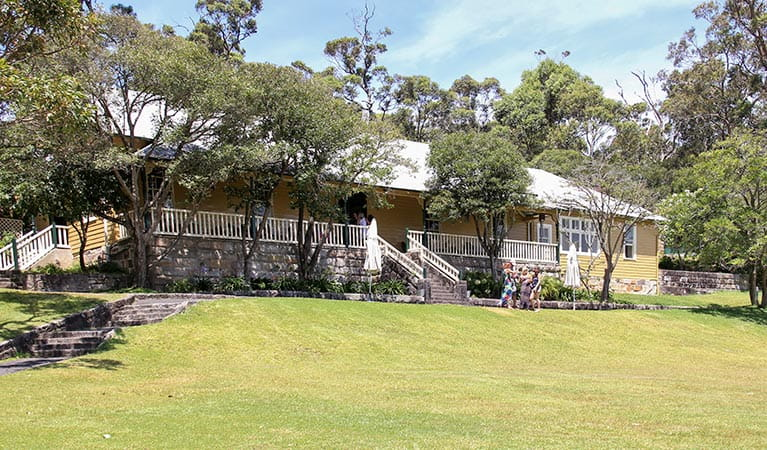 Athol Hall, Sydney Harbour National Park. Photo: John Yurasek