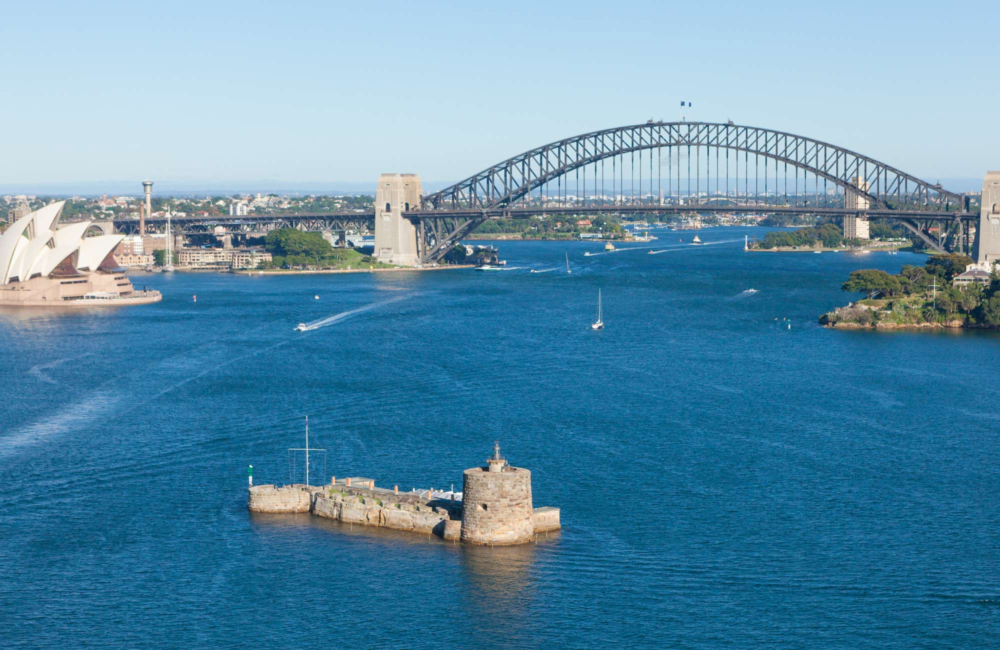 Views over Sydney Harbour National Park. Photo: David Finnegan