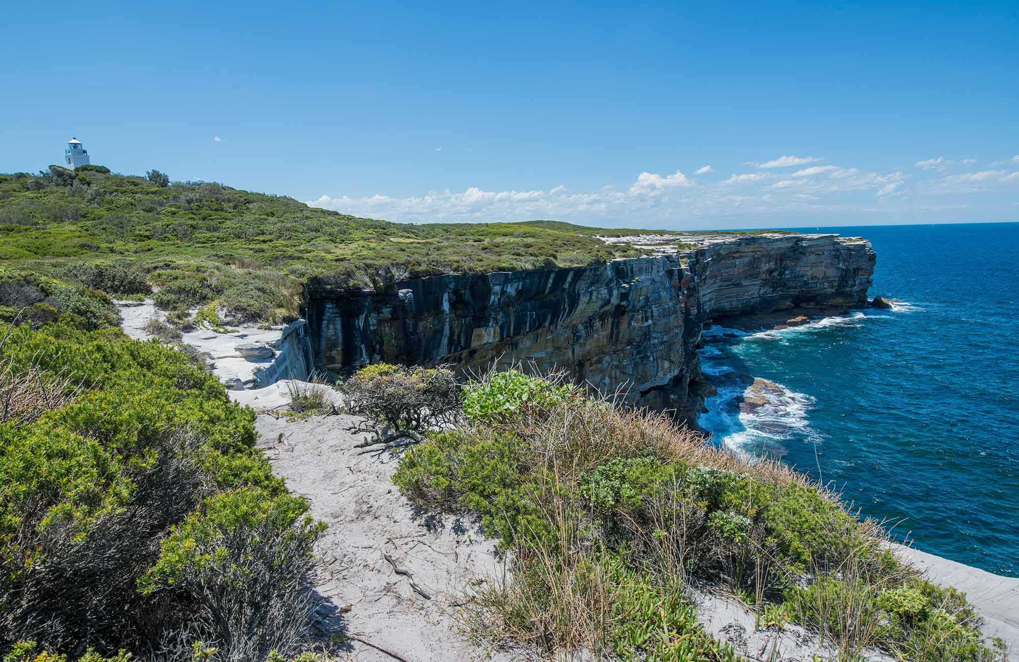 Views along the coastline, Kamay Botany Bay National Park. Photo: John Spencer