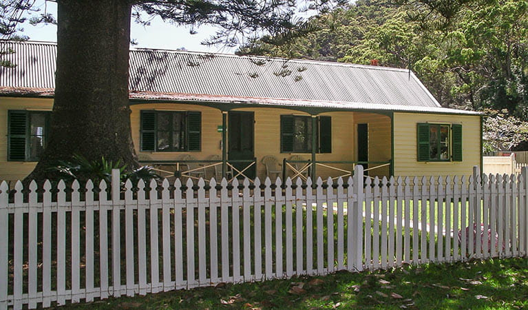 Beechwood Cottage, Ku-ring-gai Chase National Park. Photo: Christina Bullivant