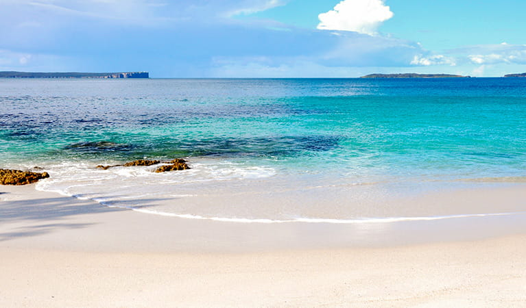 Chinamans Beach, Jervis Bay National Park. Photo: B Boughton