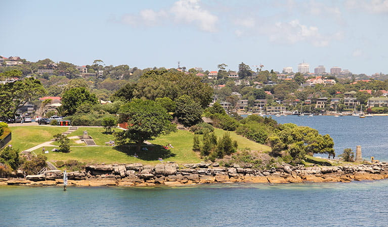 Green Point Reserve, Sydney Harbour National Park. Photo: John Yurasek