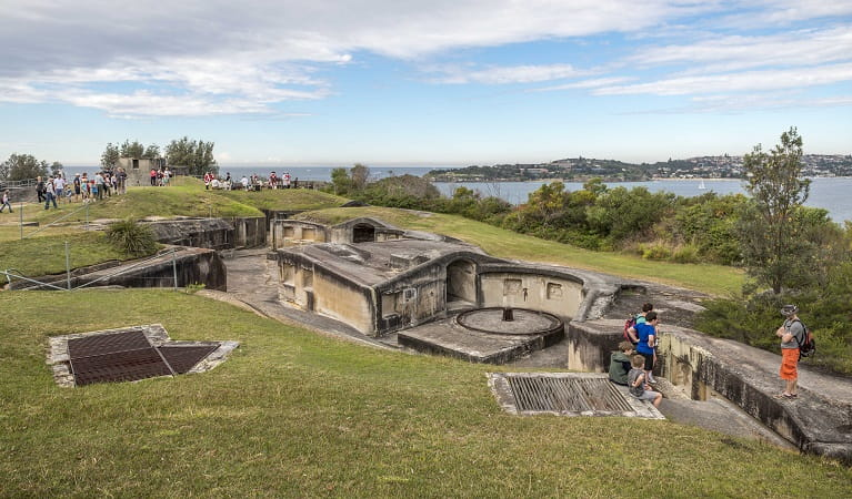 Heritage Festival Middle Head, Sydney Harbour National Park. Photo: John Spencer/OEH