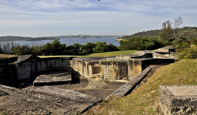 Georges Head military complex, part of Sydney's former coastal defence system. Photo: K McGrath/OEH