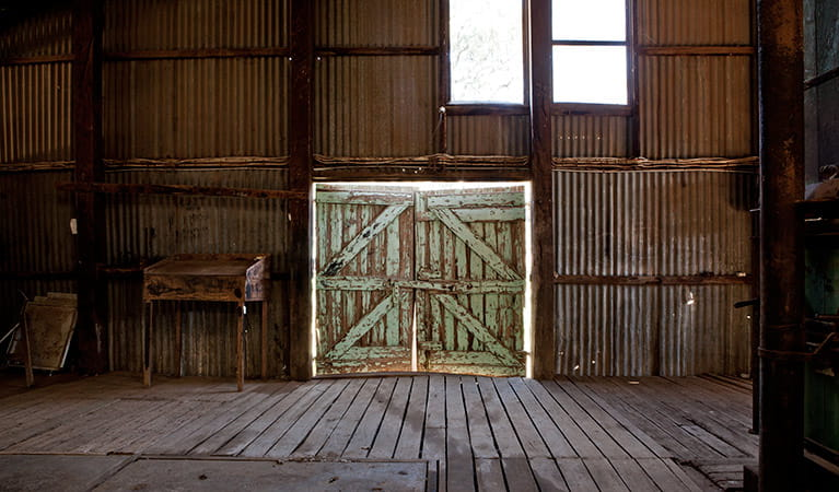 Yanga Woolshed, Yanga National Park. Photo: David Finnegan