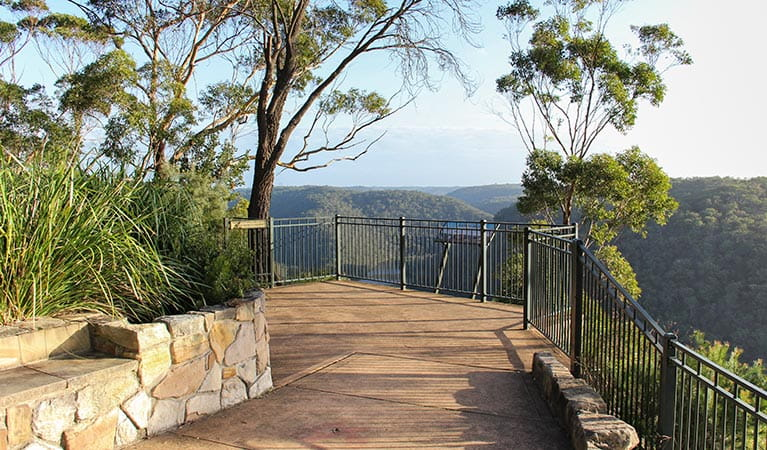 Barnetts lookout, Berowra Valley National Park. Photo: John Yurasek