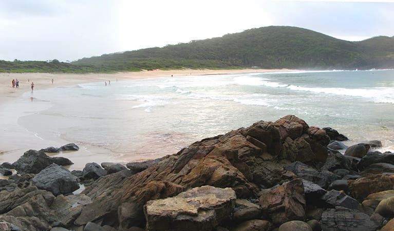 Boomerang Beach, Booti Booti National Park. Photo: Ian Charles