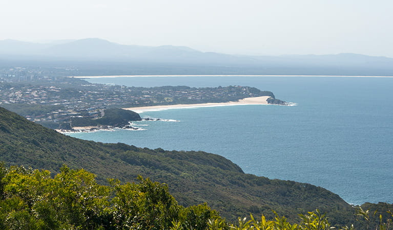 Cape Hawke lookout, Booti Booti National Park. Photo: John Spencer