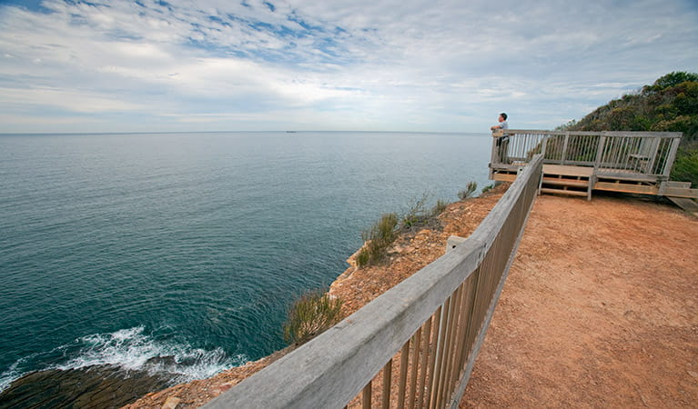 Gerrin Point lookout, Bouddi National Park. Photo: Nick Cubbin