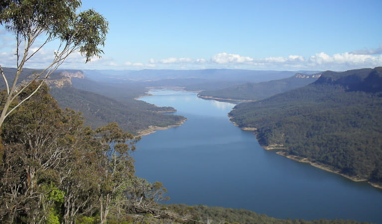 Looking over Lake Burragorang, Burragorang State Conservation Area. Photo: A Horton