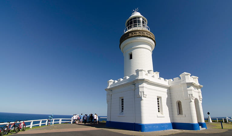 Cape Byron Lighthouse, Cape Byron State Conservation Area. Photo: John Spencer