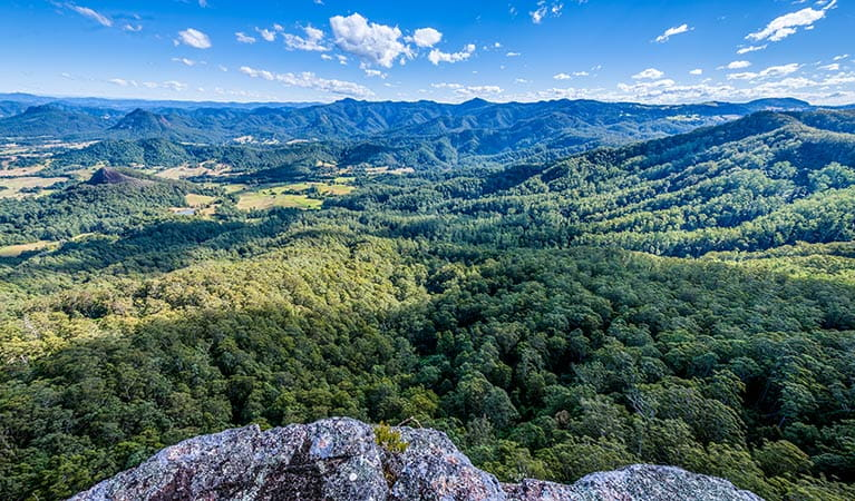 Flat Rock lookout, Coorabakh National Park. Photo: John Spencer