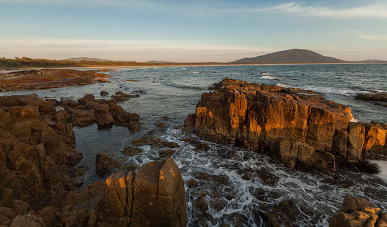 Split Rock, Crowdy Bay National Park. Photo: David Finnegan