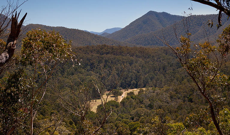 Looking across the valley, Deua National Park. Photo: Lucas Boyd