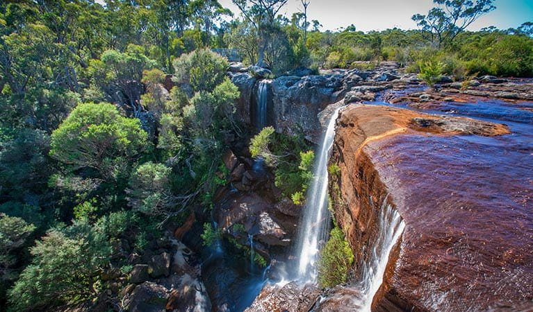 Maddens Falls, Dharawal National Park. Photo: Lucas Boyd