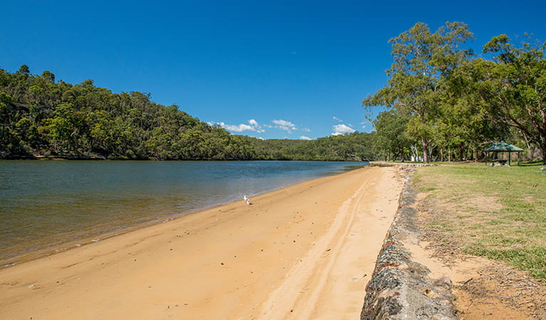 Burranwang Beach picnic area, Georges River National Park. Photo: John Spencer