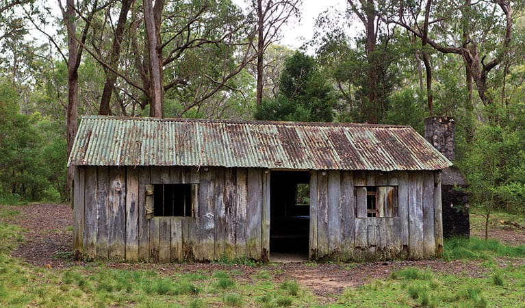 Mulligans Hut, Gibraltar Range National Park. Photo: Rob Cleary