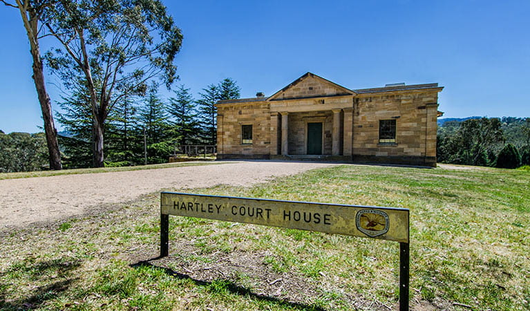 Hartley Court House, Hartley Historic Site. Photo: John Spencer