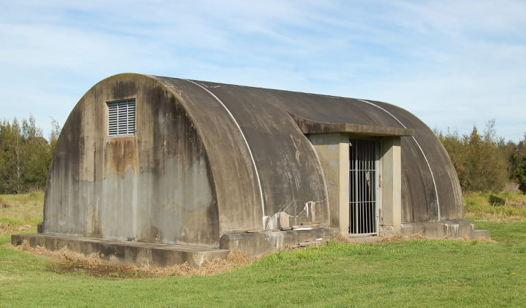 World War II Radar Station, Hunter Wetlands National Park. Photo: Susan Davis