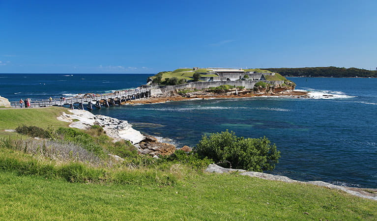 Bare Island Fort, Kamay Botany National Park. Photo: Andrew Richards