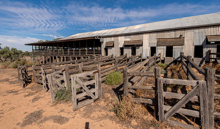 Kinchega Woolshed, Kinchega National Park. Photo: John Spencer