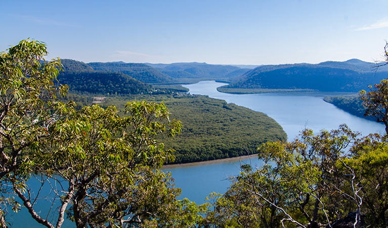 View of the Hawkesbury River, Marramarra National Park. Photo: John Spencer