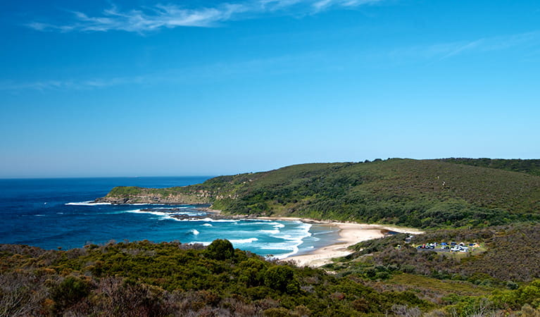 View of Frazer Beach, Munmorah State Conservation Area. Photo: John Spencer